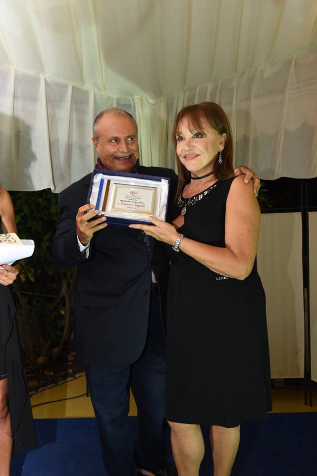 Adriana Russo premia Pierfrancesco Campanella