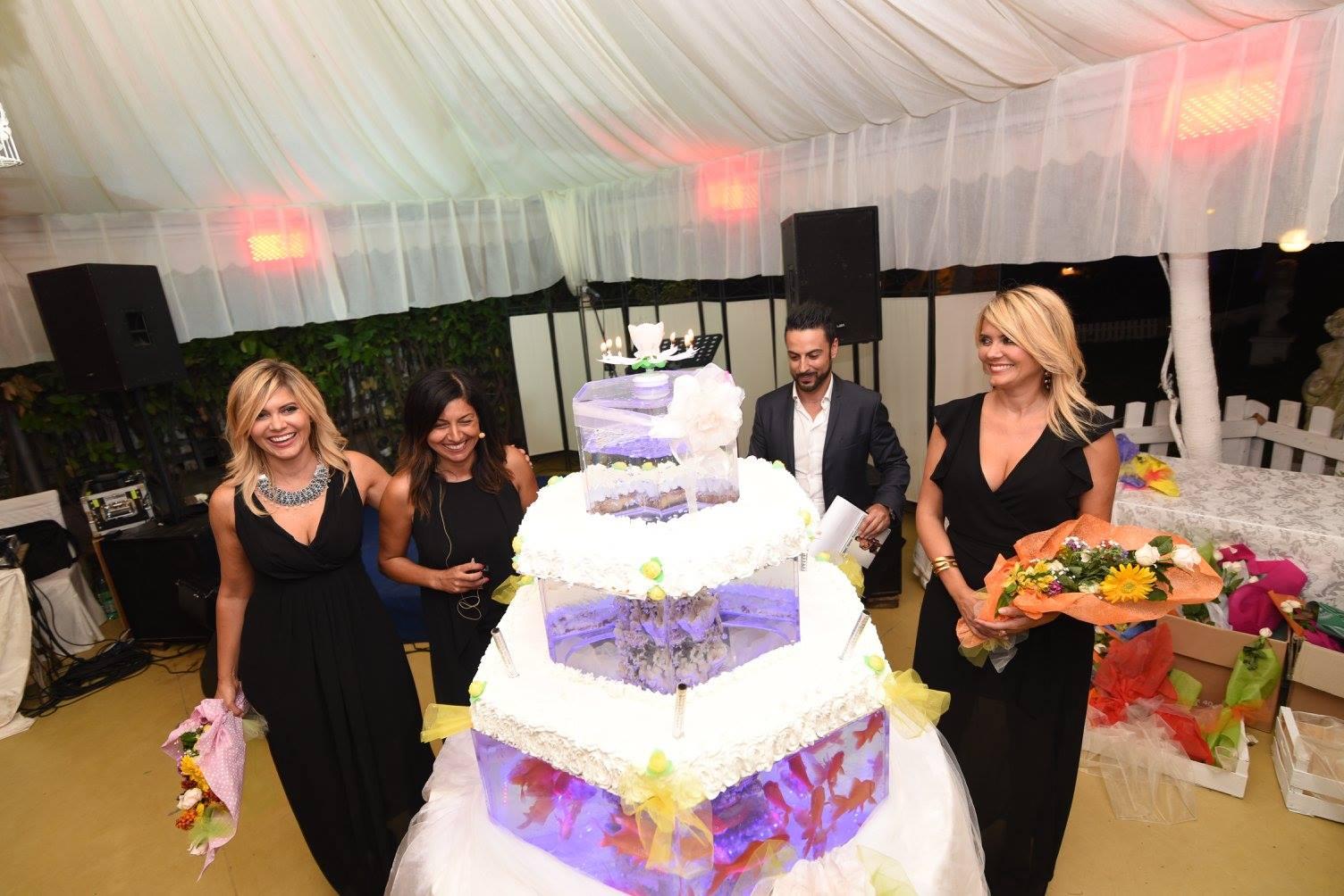 La spettacolare torta