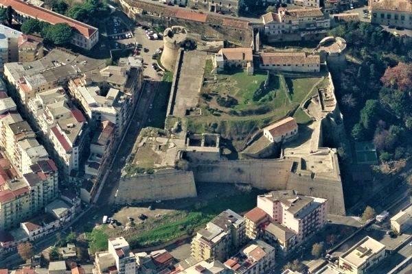 Crotone, il Castello dall'alto