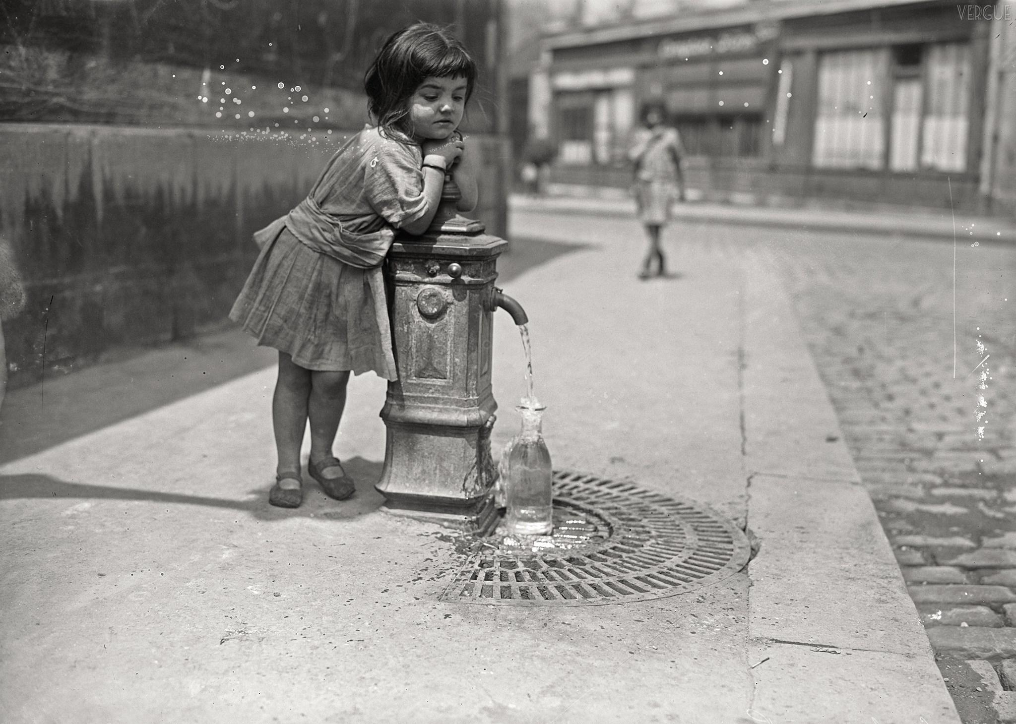 Parigi bambina