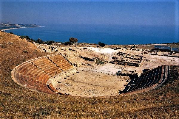 Policoro, resti di Heraclea, il teatro