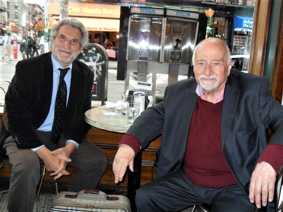 Goffredo Palmerini e Mario Fratti a Little Italy NY