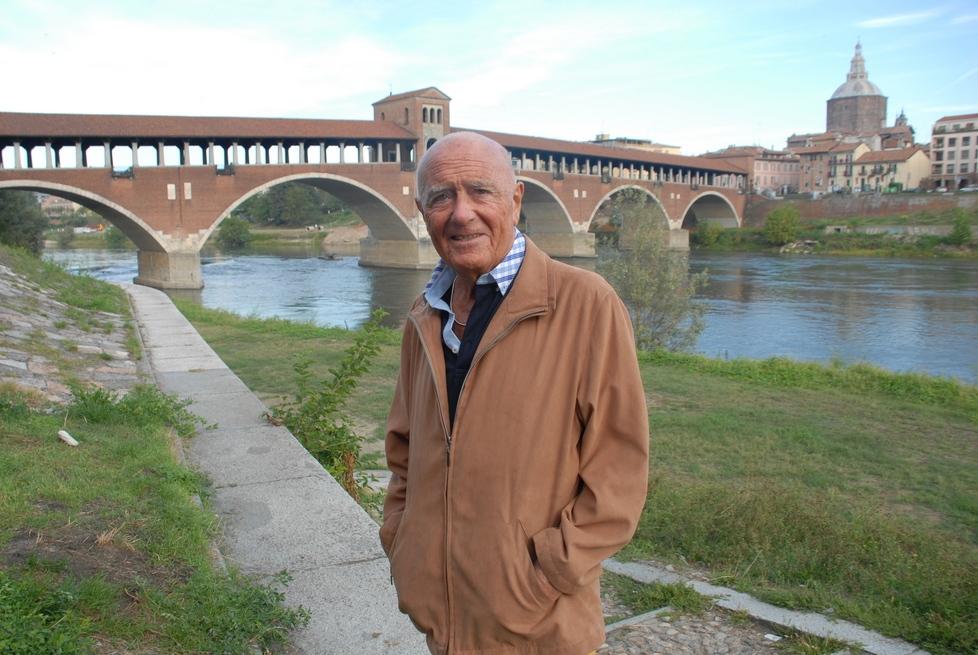 Mino MILANI e il Ponte Coperto a Pavia