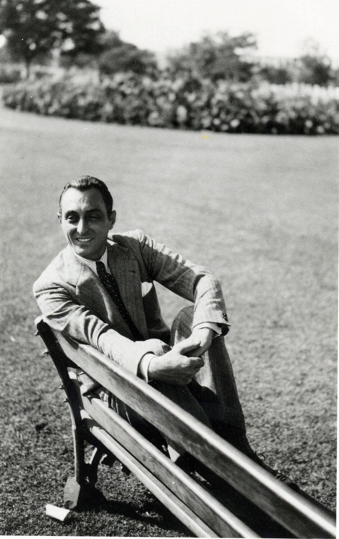 foto Tommaso Colonnello a Delhi 1935