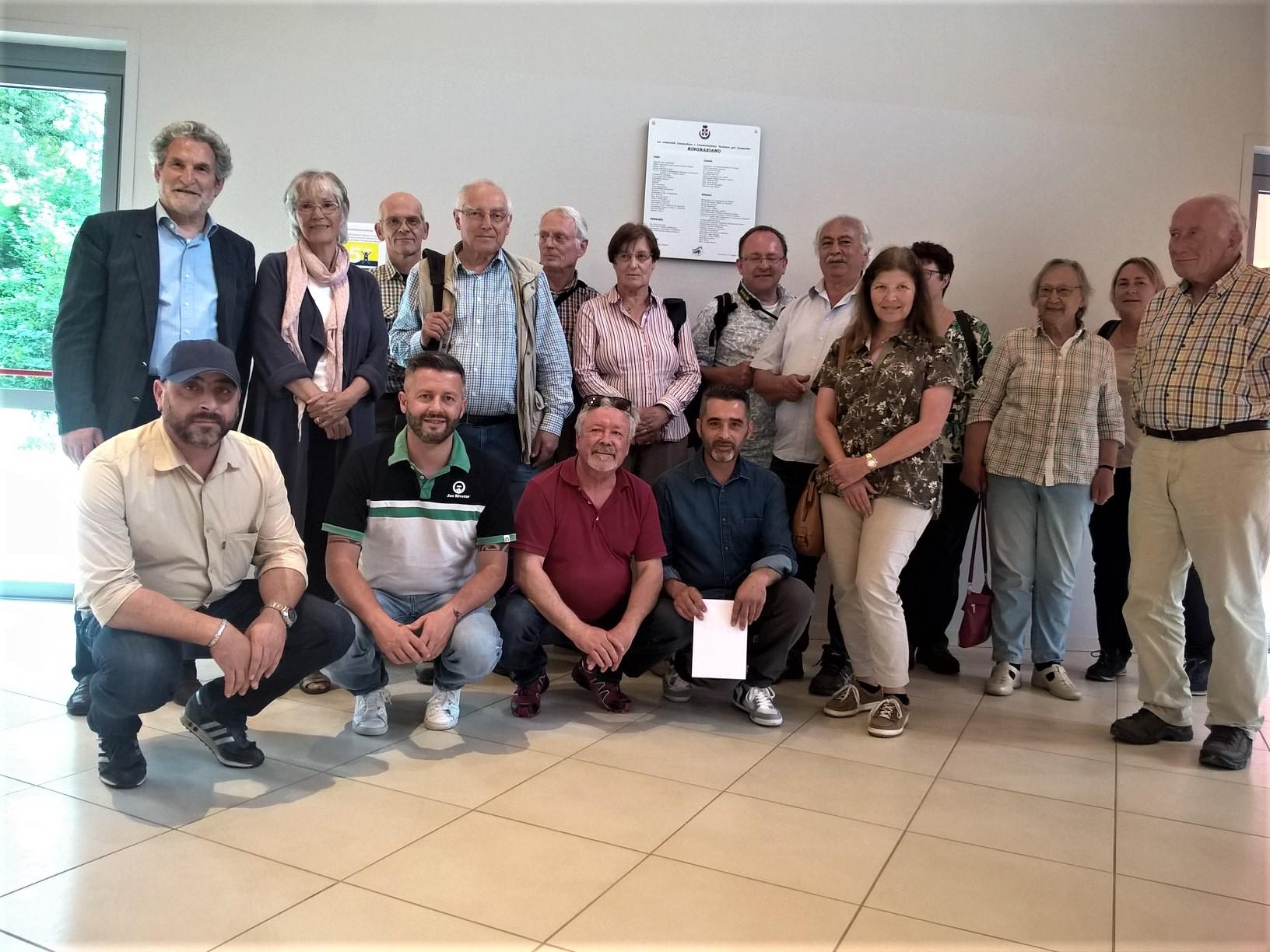 il gruppo di ornitologi tedeschi