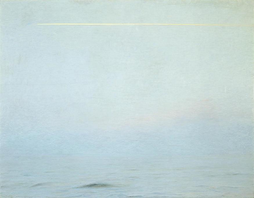 1985-1987OLIO SU TELAcm. 84x108 - CON CORNICE cm. 105x130x7FOTO PAOLO VANDRASCH