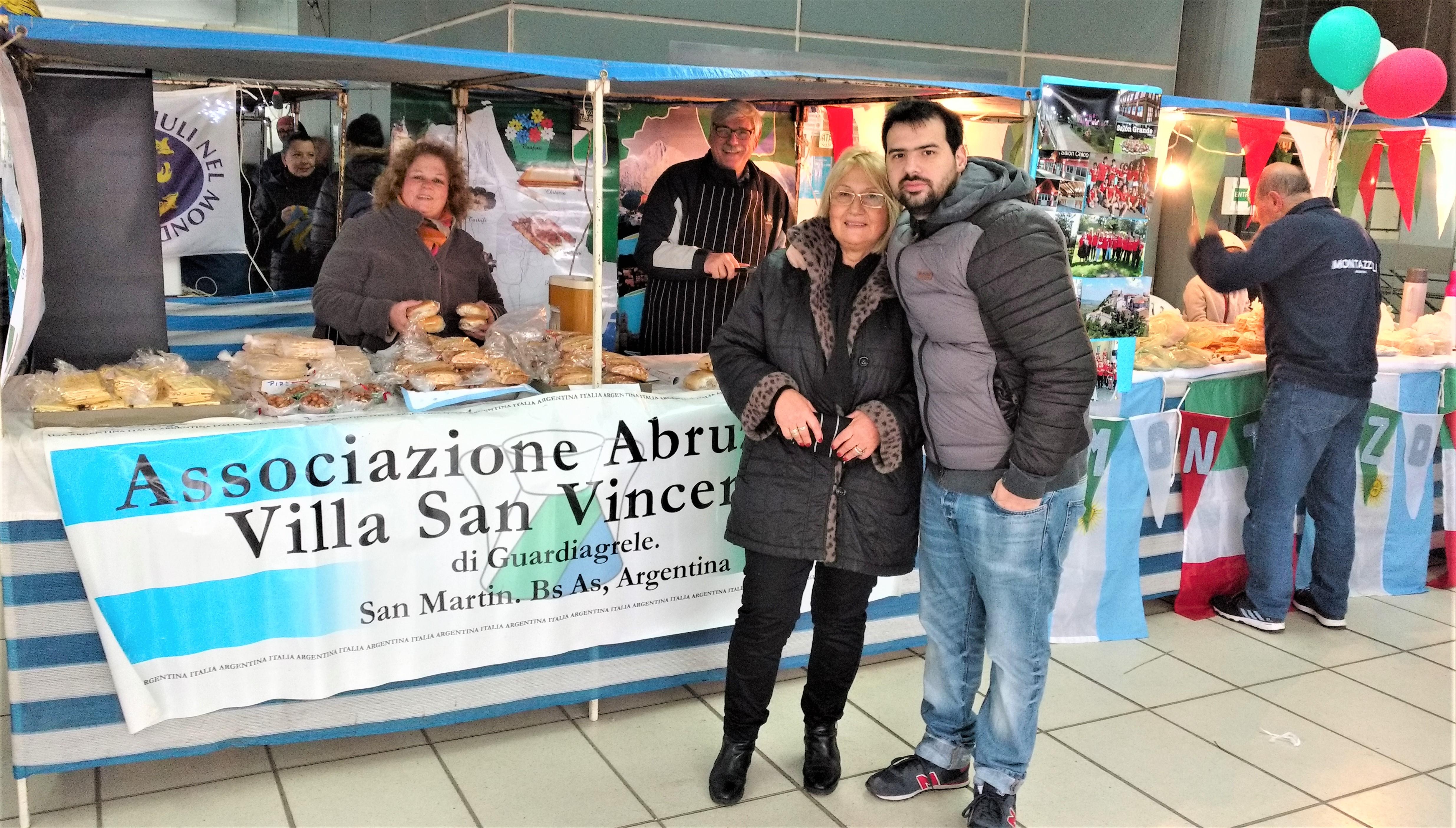 San Martin, Alicia Carosella e Federico Mandl
